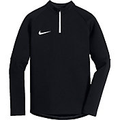 Nike Boys' Dry Academy Drill Long Sleeve 3/4 Zip Soccer Shirt