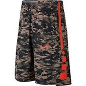 Nike Boys' Dry Elite Printed Basketball Shorts