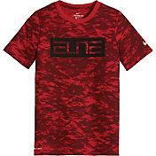 Nike Boys' Dri-FIT Elite Camo Printed T-Shirt