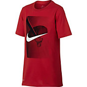Nike Boys' Dry Swoosh Photo Graphic T-Shirt