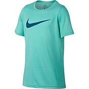 Nike Boys' Dry Leg Storm Swoosh Graphic T-Shirt