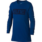 Nike Boys' Dry Elite Long Sleeve Shirt
