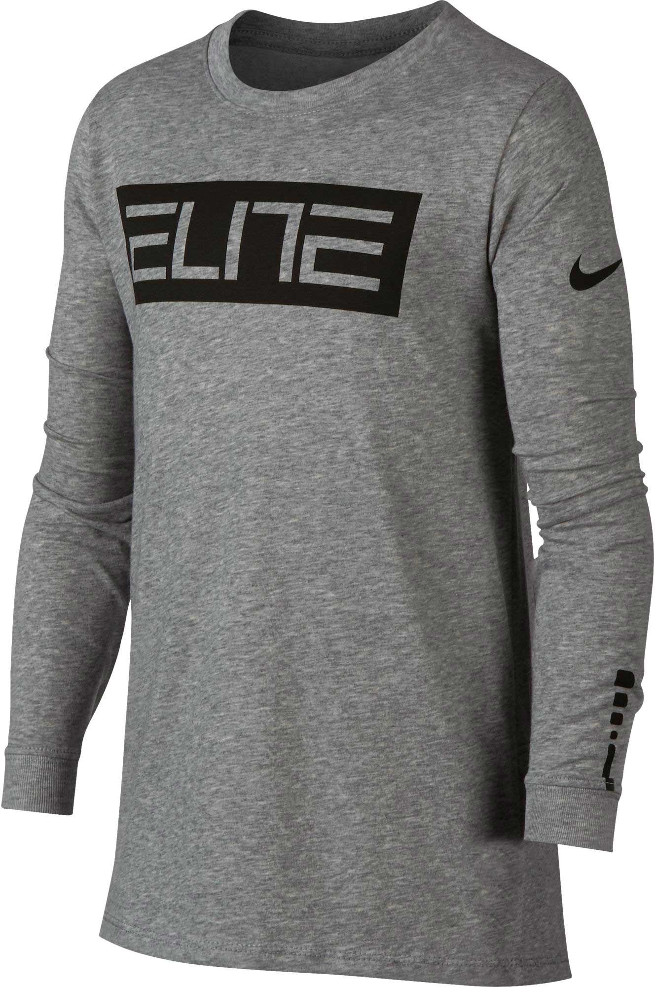 Nike Boys' Dry Elite Long Sleeve Shirt | DICK'S Sporting Goods