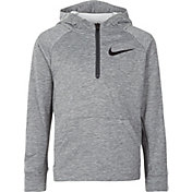 Nike Little Boys' Dri-FIT 1/4 Zip Hoodie