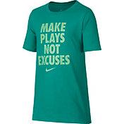 Nike Boy's Dry Make Plays Graphic T-Shirt