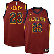 Nike Boys' Cleveland Cavaliers LeBron James #23 Dri-FIT Swingman Jersey