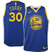 Nike Boys' Golden State Warriors Stephen Curry #30 Dri-FIT Swingman Jersey