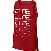 Nike Boys' Dry Elite Graphic Basketball Tank Top