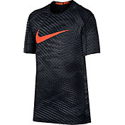 Nike Boys' Fitted Printed T-Shirt