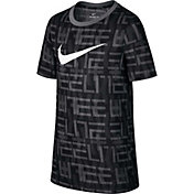 Nike Boys' Dry Elite Print Basketball T-Shirt