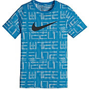 Nike Boys' Dry Elite Print Basketball T-Shirt