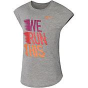 Nike Little Girls' We Run This Modern T-Shirt