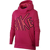 Nike Girls' Club Graphic Hoodie