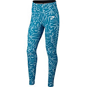 Nike Girls' Sportswear Printed Tights