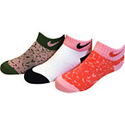 Nike Girls' Tribal Low Cut Socks 3 Pack