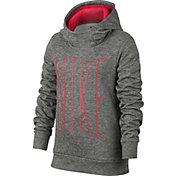 Nike Girls' Therma Graphic Hoodie