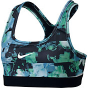 Nike Girls' Medium Support Printed Sports Bra