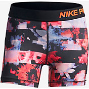 Nike Girls' Pro Printed Shorts