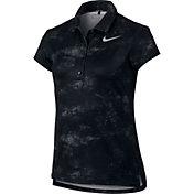 Nike Girls' Dry Printed Golf Polo
