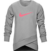Nike Little Girls' Crossover Tunic Long Sleeve Shirt