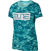 Nike Girls' Dry Elite Printed T-Shirt