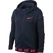 Nike Girls' Dry Training Full-Zip Hoodie