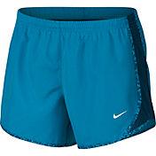 Nike Girls' Tempo Gravel Print Running Shorts
