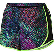 Nike Girls' Kaleidescope Printed Tempo Shorts