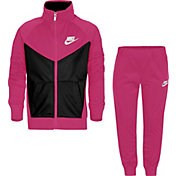 Nike Little Girls' Tricot Jacket and Pants Set
