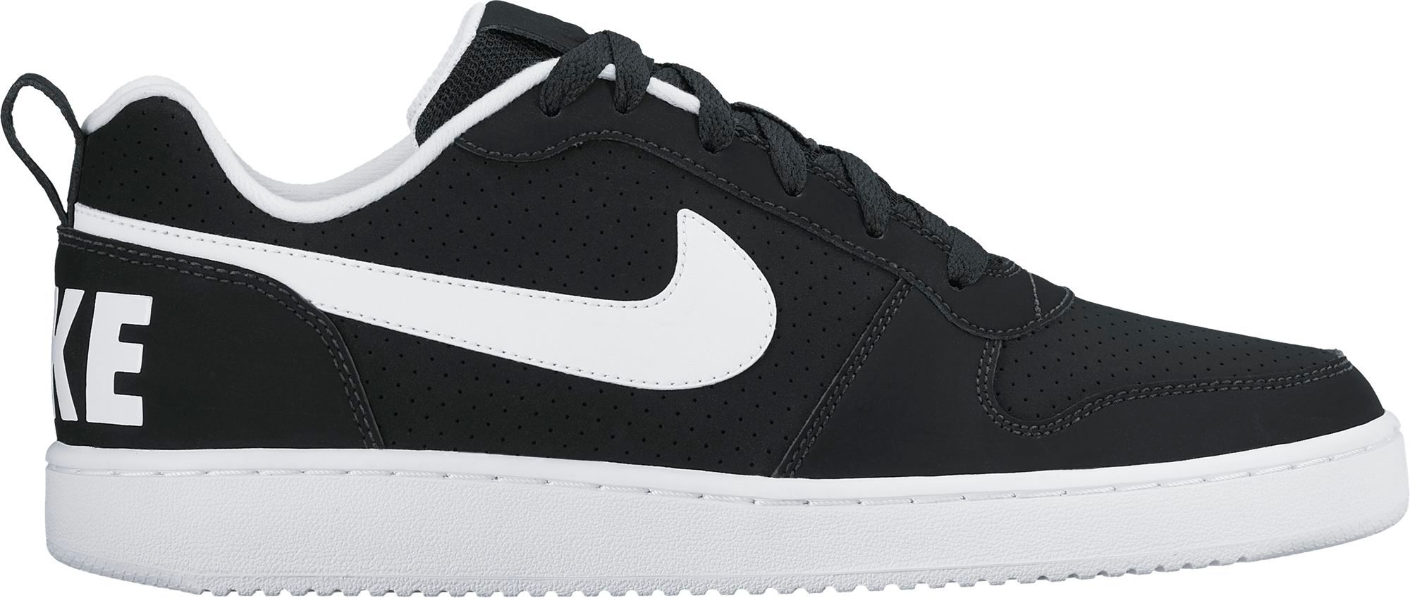 nike court borough low negras