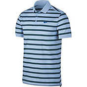 Nike Men's Court Dry Striped Tennis Polo