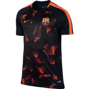 Nike Men's Barcelona Black 17/18 Dry Squad Football Training Top