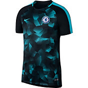 Nike Men's Chelsea FC Black 17/18 Dry Squad Football Training Top