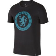Nike Men's Chelsea FC Grey Crest T-Shirt