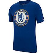 Nike Men's Chelsea FC Spring 18 Crest Blue T-Shirt