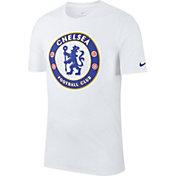 Nike Men's Chelsea FC White Crest T-Shirt