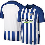 Nike Men's Hertha Berlin 17/18 Breathe Stadium Replica Home Jersey