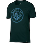 Nike Men's Manchester City Green Crest T-Shirt