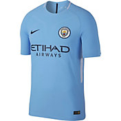 Nike Men's Manchester City 17/18 Vapor Match Home Jersey