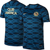 Nike Men's Club America Dry Squad Blue Pre-Match Top