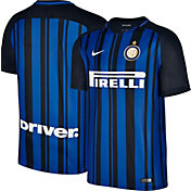Nike Men's Inter Milan 17/18 Breathe Stadium Home Jersey