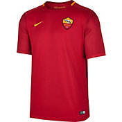 Nike Men's AS Roma 17/18 Breathe Stadium Home Jersey