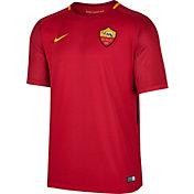 Nike Men's AS Roma 17/18 Breathe Stadium Home Jersey