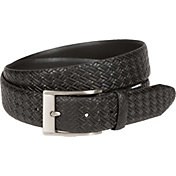 Walter Hagen Men's Feather Edge Basketweave Golf Belt