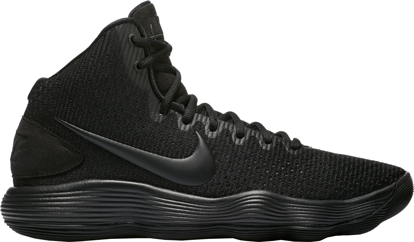 Product Image � Nike Men\u0027s React Hyperdunk 2017 Basketball Shoes. Black/ ...