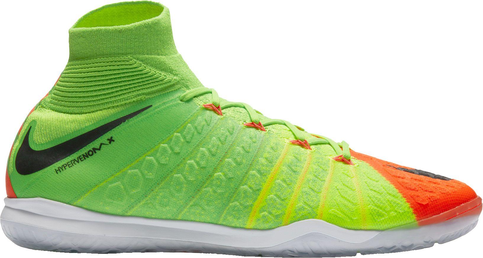 Indoor soccer shoes hypervenom