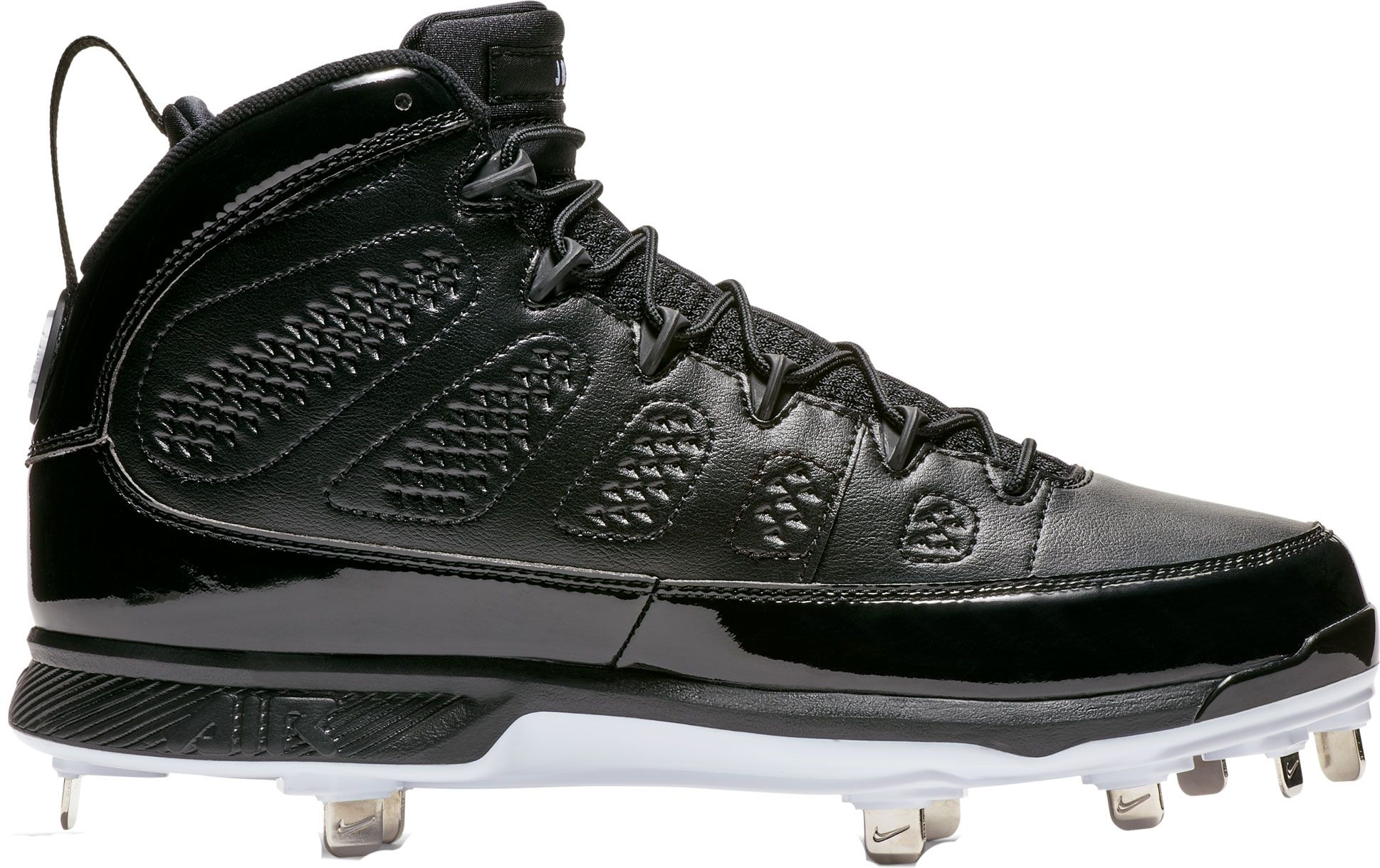 Product Image · Jordan Men's IX Retro Mid Metal Baseball Cleats