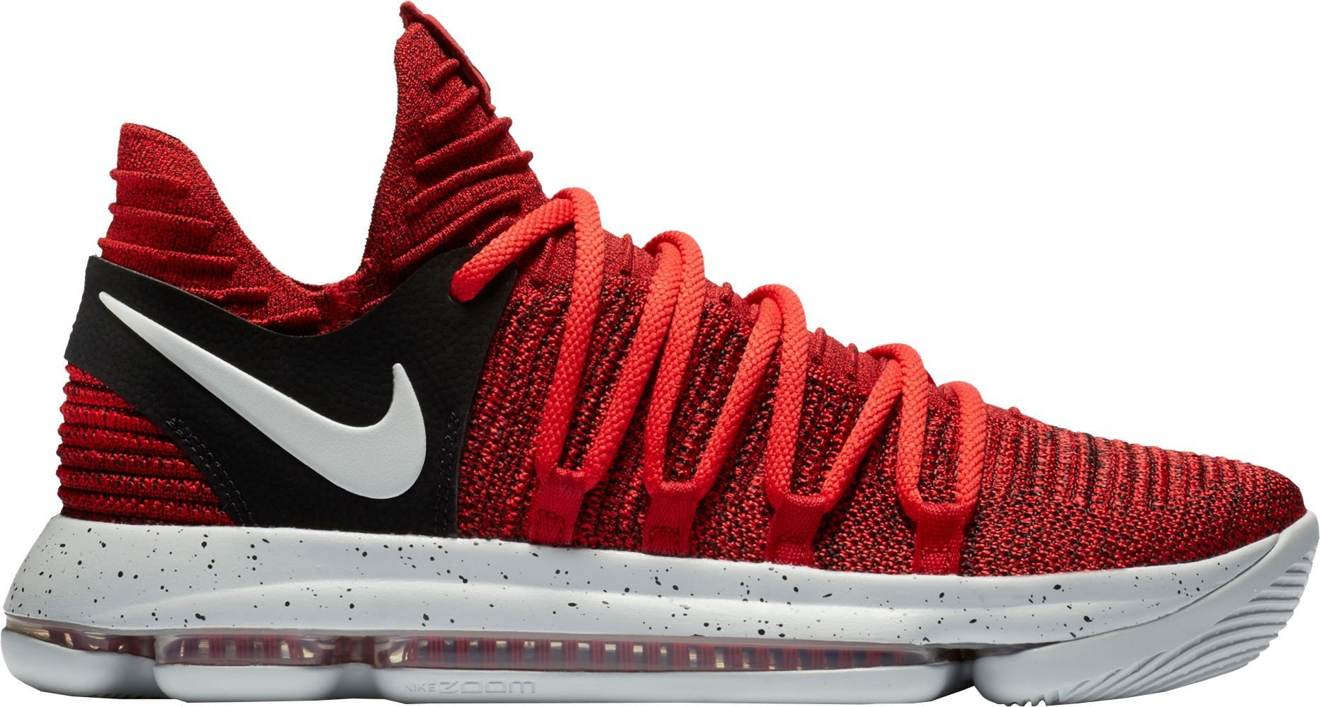 Product Image � Nike Men\u0027s Zoom KD 10 Basketball Shoes. Red/Black