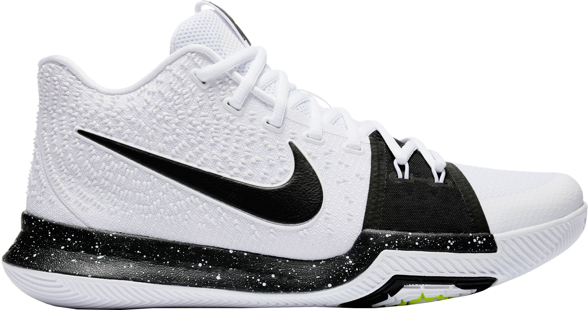 Product Image � Nike Men\u0027s Kyrie 3 TB Basketball Shoes. White/Black