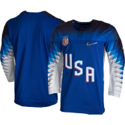 Nike Men's USA Hockey Replica Royal Jersey